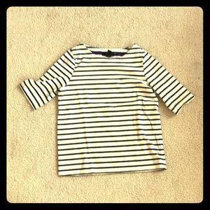 A striped kids shirt